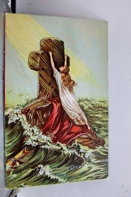 Christian The Cross Postcard Old Vintage Card View Standard Souvenir Postal Post