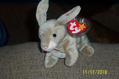 Ty Beanie Baby Original  Nibbly Born May-7 -1998 New W/tag Error Retired