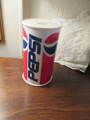 Vintage Pepsi Coin Bank Pepsi Can Advertising U.s.a.