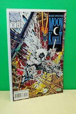 Marc Spector: Moon Knight #55 (1993, Marvel) NM+ 1st Stephen