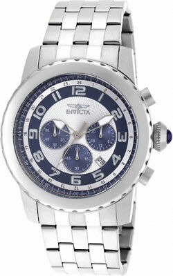 Invicta Specialty 19462 Men's Round periwinkle Analog Chronograph Date Watch