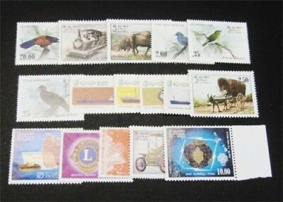 nystamps British Ceylon Sri Lanka Stamp # 662//694 Mint OG NH $33