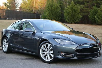 2015 Tesla Model S 90D 2015 MODEL S 90D,GRAY/LIGHT GRAY LEATHER,PANO ROOF,22K WARRANTY,LIKE NEW