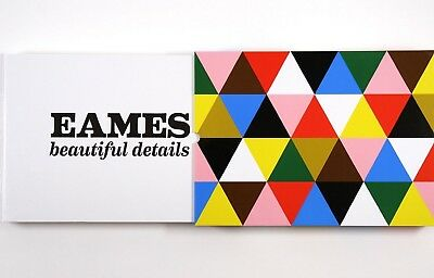 EAMES Beautiful Details Ray & Charles HC in Slipcase Mid Century Modern Design