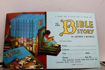 Christian the Bible Story Postcard Old Vintage Card View Standard Souvenir Post