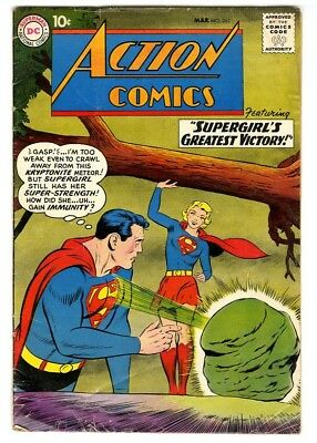 Action Comics #262 (1960) VG- New DC Silver Age Collection