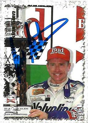 MARK MARTIN - Hand Signed Autographed  1995 Maxx Series One  Card #109