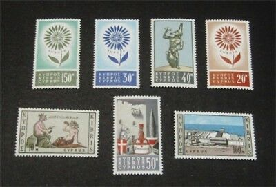 nystamps British Cyprus Stamp # 244//250 Mint OG NH $40
