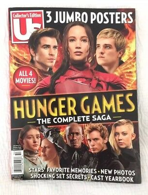 The Hunger Games Complete Us Collector's Edition 2016 Movie Magazine + Posters