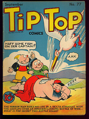 Tip Top Comics #77 Nice Golden Age United Features Comic 1942 VG