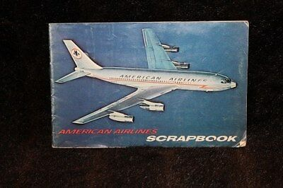 American Airlines Vintage Scrapbook 1966. Depicts All Of Aa Aircraft  Through 196 29982fea572c3