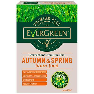 Evergreen Premium Plus Autumn & Spring Lawn Food 100M2 Keep Your Lawn Healthy