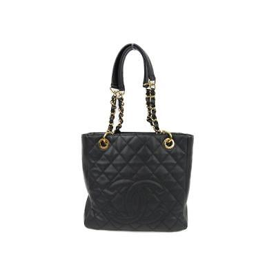 0f6a6d1c35c CHANEL GRAND SHOPPING Gst Quilted Ghw Classic Timeless Black Caviar ...