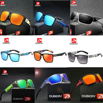DUBERY Men Polarized Sport Sunglasses Outdoor Riding Fishing Summer Goggles Cool