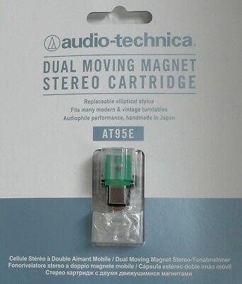 Audio Technica At95-E Mm Tonabnehmer Mm Cartridge Made In Japan