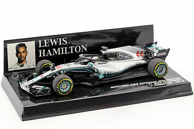 Lewis Hamilton Mercedes-Amg F1 W09 Eq Power + #44 World Champion Formula 1 2018