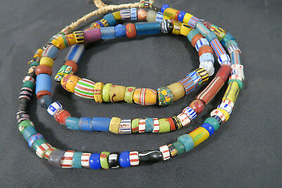 Alte Glasperlen Mixed AC20 Old African Glass trade beads Afrozip