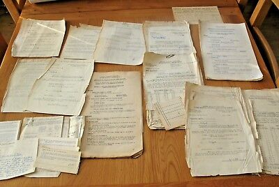Job lot of old 1950's BR Railway paperwork relating to Jersey & Guernsey