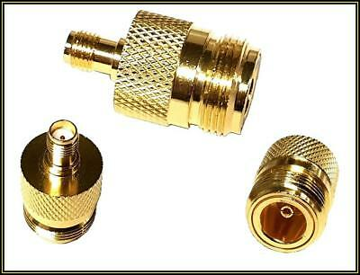 4299 RF/COAXIAL Adapter 12.4GHz 50Ohm ST Gold Zwischen Serien SMA F / N F 1 x