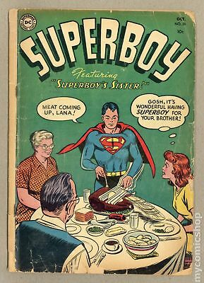 Superboy (1st Series DC) #36 1954 FR/GD 1.5