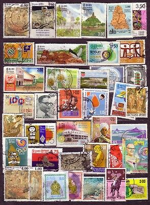 Stamps: Sri Lanka (Four)  Comms Selection With High Values