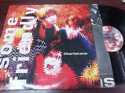 """THE CHARLATANS - Some Friendly, LP 12"""" RU INDIE 1990"""