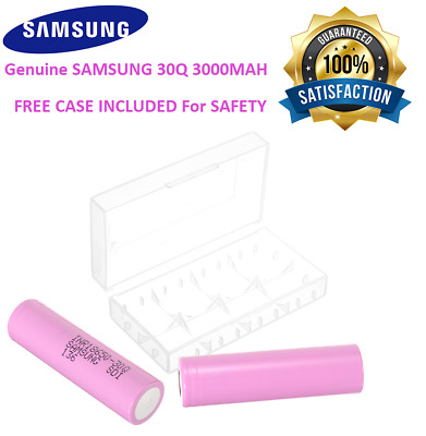 SAMSUNG 18650 Lithium 30Q 3000mAh 15A Li-ion Battery Vape Batteries 100% GENUINE