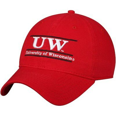 promo code 7a6e8 d42cb The Game Wisconsin Badgers Red Classic Bar Unstructured Adjustable Hat