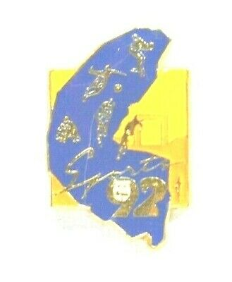 Pins Jeux Olympiques Sports 1992 Velo