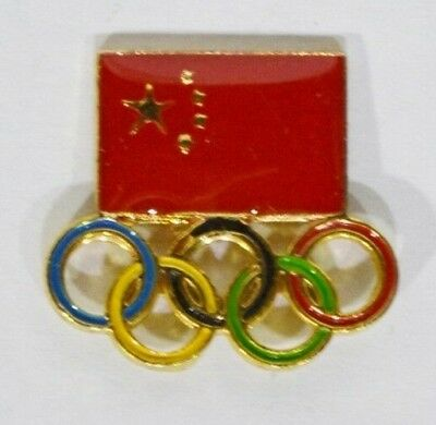 Pins Jeux Olympiques Drapeau Chinois Chine 2008