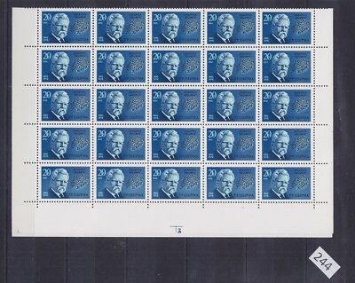 ## 50X Belarus 1992 - Mnh - Famous People - Sheet Bent