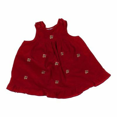 5be3a13cfcdb CHANTILLY PLACE BABY Girls Dress, size 24 mo, red, cotton - $7.80 ...