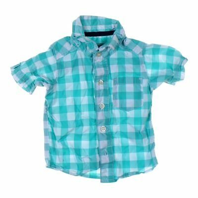 Carter's Baby Boys  Shirt, size 3 mo,  turquoise,  cotton