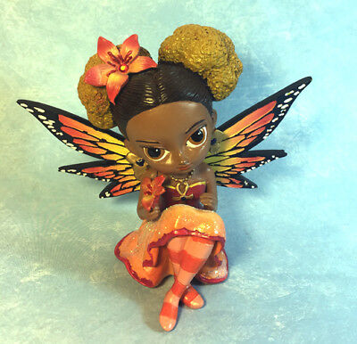 Jasmine Becket-Griffith art butterfly fairy statue SIGNED On the Wings of Faith