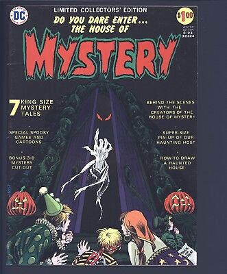 House of Mystery Limited Collectors Edition DC C-23 Large Format 1973