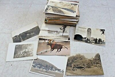 Lot Of 170 Vintage Postcards RPPC People Places Used New Hotels Travel