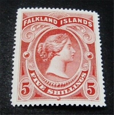 nystamps British Falkland Islands Stamp # 21 Mint OG H $250