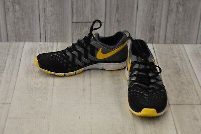1153f0237f301 Nike Free Trainer 5.0 Athletic Shoes - Men s Size 8.5 - Black Grey Yellow