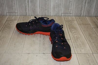 Saucony Xodus ISO 2 Trail Running Shoes, Men's Size 9.5, Black/Blue/Red