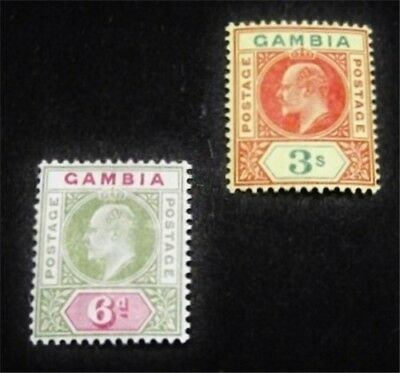nystamps British Gambia Stamp # 34.39 Mint OG H $41