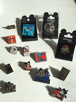 Collection Of Disney Pins