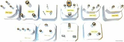 Sole Source TPAK-10EP-TAA Universal WorldWide Travel Adapter Set - Continential