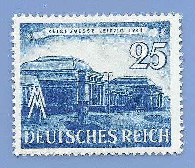 Nazi Germany 3rd Reich 1941 Leipziger Messe 25 Stamp WW2 ERA