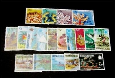 nystamps British Gilbert & Ellice Islands Stamp # 173//202 Mint OG NH $28