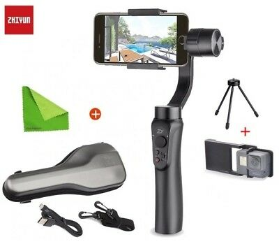 Zhiyun Smooth-Q 3-Axis Smartphone Handheld Gimbal Stabilizer for iPhone X 8 7 On