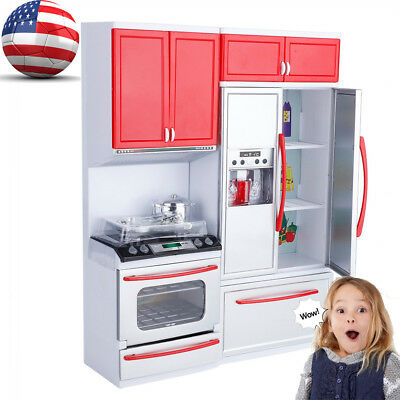 MINI KITCHEN SET For Kids Cooking Pretend Play Cooking Role ...