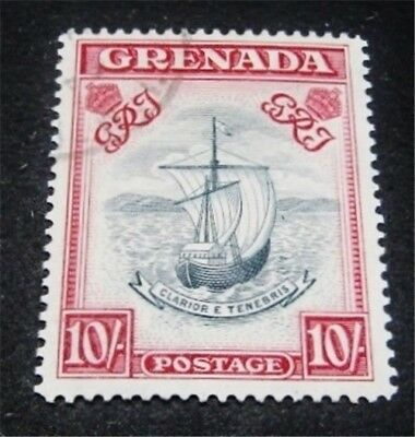 nystamps British Grenada Stamp Used High Value Rare