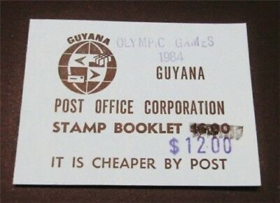 nystamps British Guyana Early Booklet Rare