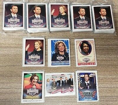 2016 Decision 2016 ** Political Trading Cards ** 40 Card Lot ** All Different