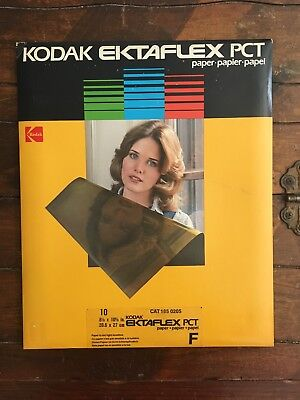 NOS Kodak Ektaflex PCT Photo Paper 10 Sheets